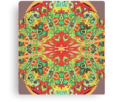 Stain Glass D Canvas Print
