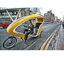 Cycle Taxi Photographic Print