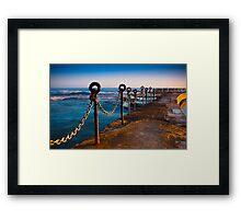 Ocean Baths Newcastle Framed Print