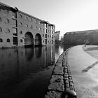 Deansgate Canal in B&W by mliebenberg