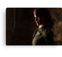 Tanya Wheelock as Peggy Carter (Photography by Sean William / Dragon Ink Photography) Canvas Print