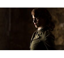 Tanya Wheelock as Peggy Carter (Photography by Sean William / Dragon Ink Photography) Photographic Print
