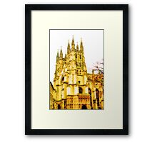 Canterbury Cathedral Framed Print