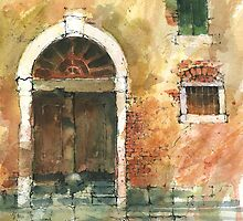 Old Door Venice by djones