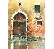 Old Door Venice Photographic Print