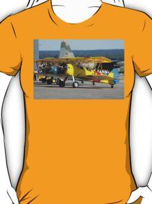 Three Boeing Steermans, Nowra Airshow, Australia 2007 T-Shirt