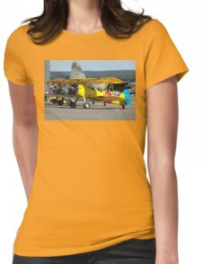 Three Boeing Steermans, Nowra Airshow, Australia 2007 Womens Fitted T-Shirt