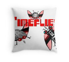 Timeflies 1 Throw Pillow