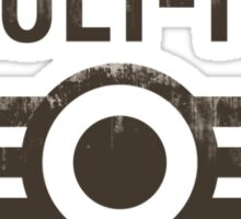 Fallout Vault Tec Sticker