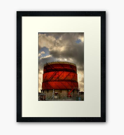 Oil Price Rising Again? Framed Print