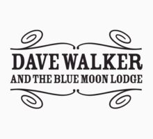 Dave Walker and the Blue Moon Lodge T-shirt by bluemoonlodge