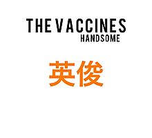 The Vaccines//Handsome Photographic Print