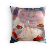 """"""" Who is watching Who """"  Throw Pillow"""