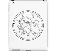 "Circular Gallifreyan: ""If you're going through hell, keep going"" iPad Case/Skin"