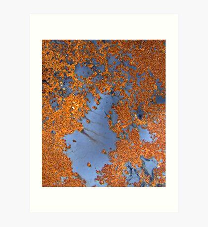 abstract oxide Art Print