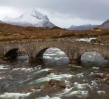 The Old Sligachan Bridge by tinnieopener