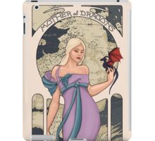 Daenerys Targaryen: A Song of Ice and Nouveau iPad Case/Skin