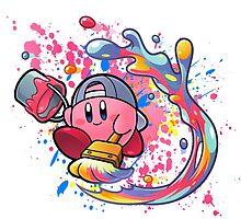 Kirby paints by dekuscrub99
