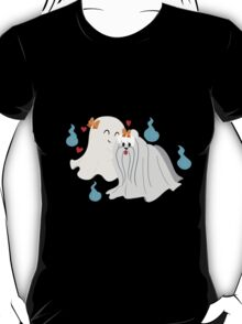 Ghost Maltese  T-Shirt