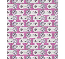 SNES Controller Pattern Photographic Print