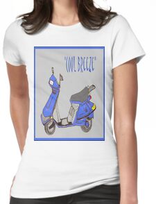 """""""Cool Breeze"""" Womens Fitted T-Shirt"""