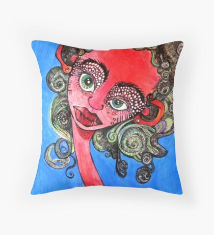 Fairy Elf Throw Pillow