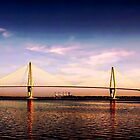 Ravenel Bridge by Darlene Lankford Honeycutt