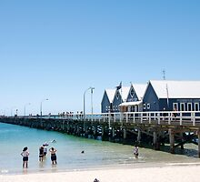 Busselton Jetty by Loriene Perera