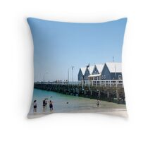 Busselton Jetty Throw Pillow