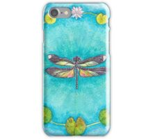 Turquoise Dragonfly iPhone Case/Skin