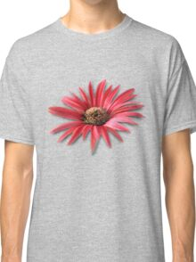 Tilted Red Daisy Classic T-Shirt