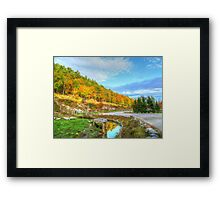 Beautiful Autumn Day Framed Print