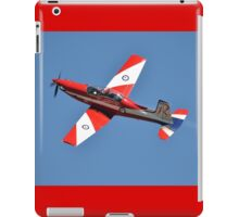 Roulette '60' climb-out, Albion Park Airshow 2012 iPad Case/Skin