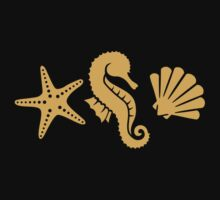 Shell seahorse star Kids Clothes