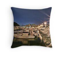 Cabo San Lucas Harbor Throw Pillow
