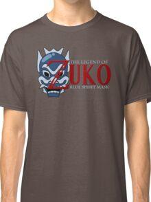 The Legend of Zuko - Blue Spirit Mask Classic T-Shirt