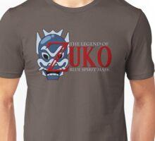 The Legend of Zuko - Blue Spirit Mask Unisex T-Shirt