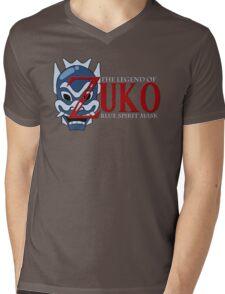 The Legend of Zuko - Blue Spirit Mask Mens V-Neck T-Shirt