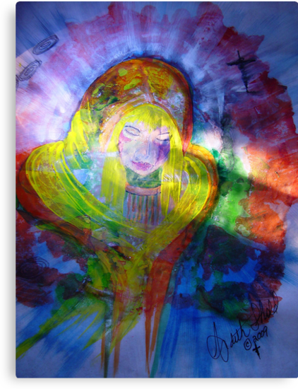 Mary Holy Mother of Jesus by RealPainter