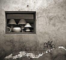 The little shop window by Barbara  Corvino