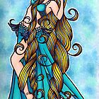 Aquarius Belly Dancer by lacychenault