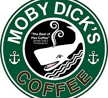 Moby Dick's Coffee by EyeMagined