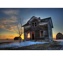 this old house Photographic Print