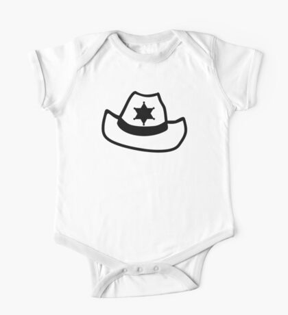 Sheriff hat star One Piece - Short Sleeve