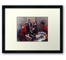 bazza the greatest Framed Print
