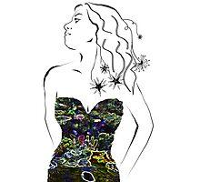 Tropical Dress Photographic Print