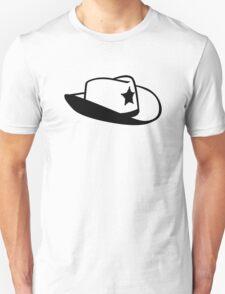 Sheriff hat Unisex T-Shirt