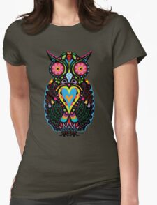 Day of the Dead Owl T-Shirt