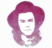 Harry Styles Watercolor Pink by sandracbt