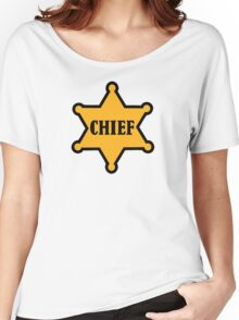 Chief sheriff star Women's Relaxed Fit T-Shirt